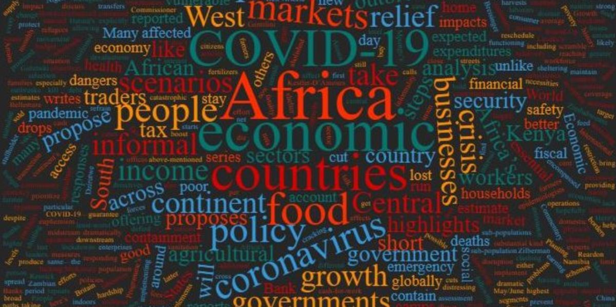 Developing Countries impacted by the pandemic